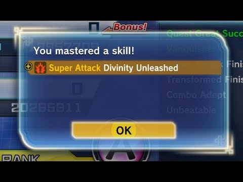 NEW SKILL DIVINITY UNLEASHED DRAGONBALL XENOVERSE 2 DLC PACK 4 NEW SKILL