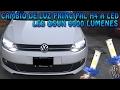 Instalar Luz LED en faros principales H4 OSUN - VW Vento/Polo