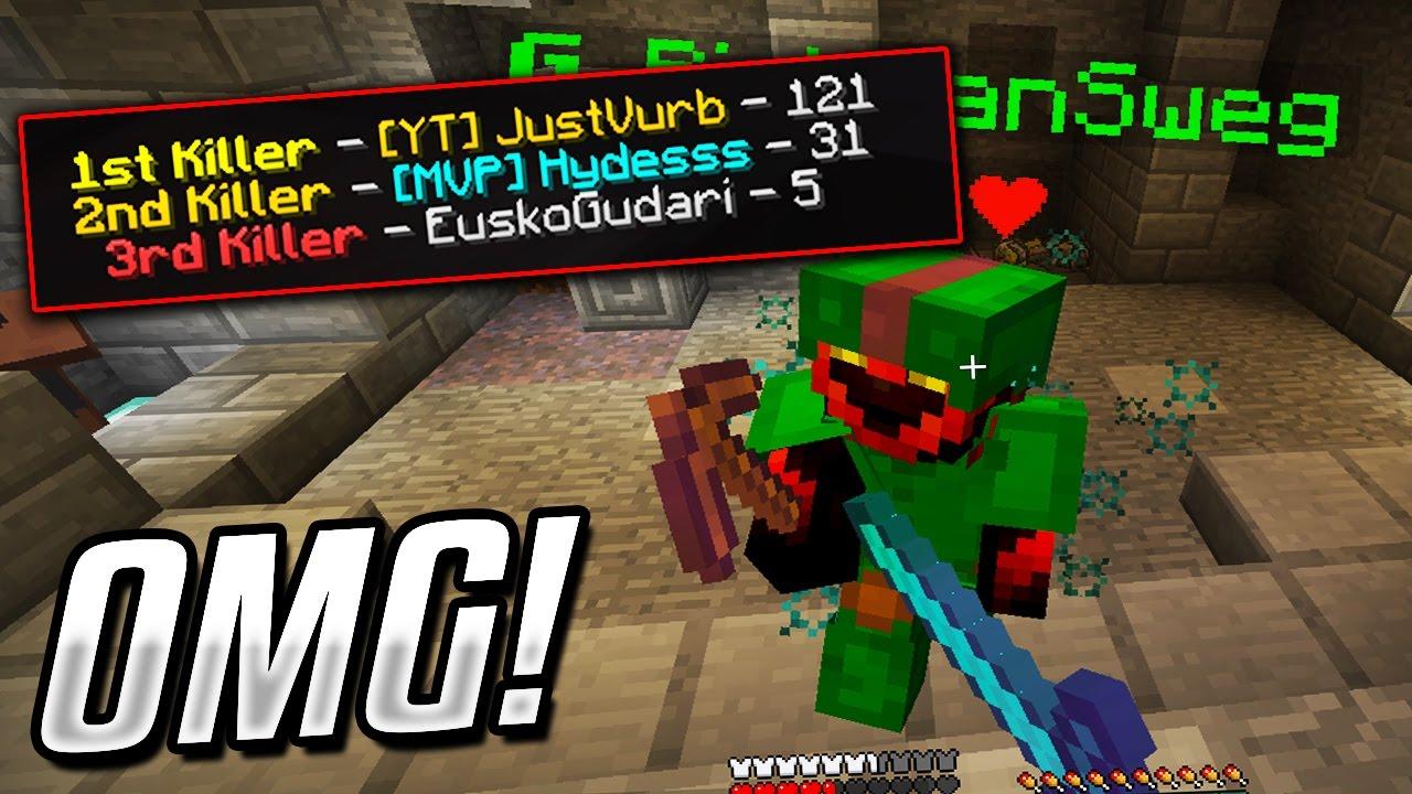 The Most Kills In Minecraft Bed Warsminecraft Bed Wars Youtube