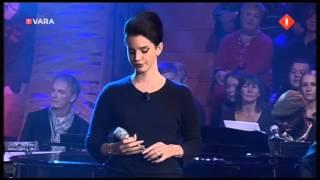 Lana del rey - live bij paul de leeuw met het nummer ride.