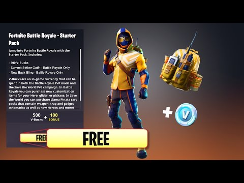 THE SUMMIT STRIKER PACK IN FORTNITE BATTLE ROYALE!