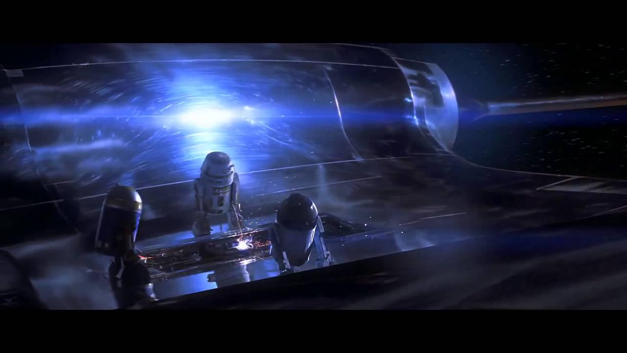 Naboo Royal Starship Leaving Naboo And Blockade Scene - YouTube