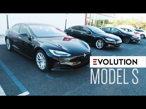 The Evolution of the Tesla Model S (2013 - 2016)