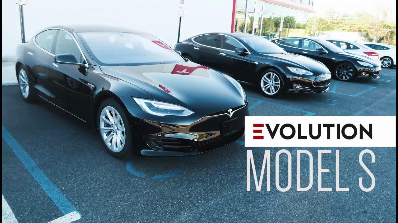 The Evolution Of The Tesla Model S 2013 2016