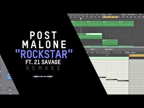 Making a Beat: Post Malone - Rockstar ft. 21 Savage