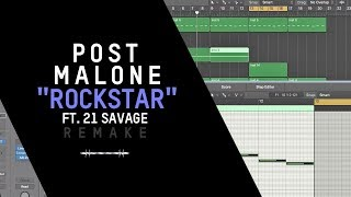 Baixar Making a Beat: Post Malone - Rockstar ft. 21 Savage
