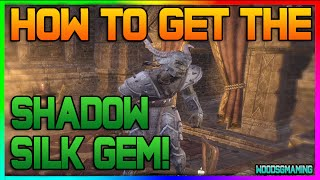 ESO: Elder Scrolls Online - Tamriel Unlimited - HOW TO GET GOBLIN DISGUISE! Shadowsilk Gem Disguise!