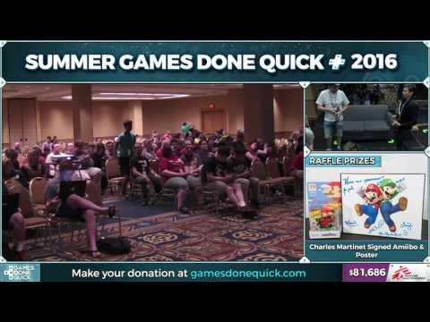 Mario Kart: Double Dash!! by druvan7 in 0:35:09 - SGDQ2016 - Part 12