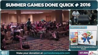 Mario Kart: Double Dash!! by druvan7 in 0:35:09 - SGDQ2016 - Part 12
