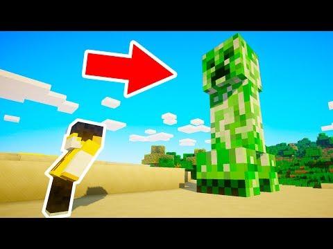 Minecraft   Aparece al CREEPER más PELIGROSO de todo MINECRAFT!!