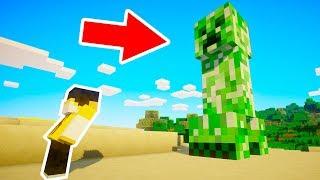Minecraft | Aparece al CREEPER más PELIGROSO de todo MINECRAFT!!