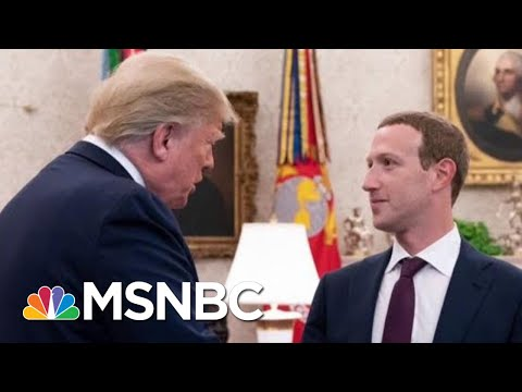 Facebook: President Donald Trump Can Lie All He Wants | All In | MSNBC