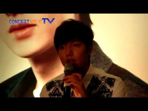 Lee Min Ho - Global Fanmeeting ( Press Conference )
