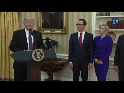 Swearing In Ceremony of the Secretary of Treasury