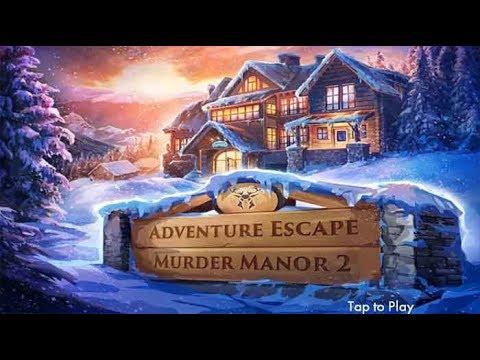 Adventure Escape Murder Manor 2 Full Walkthrough