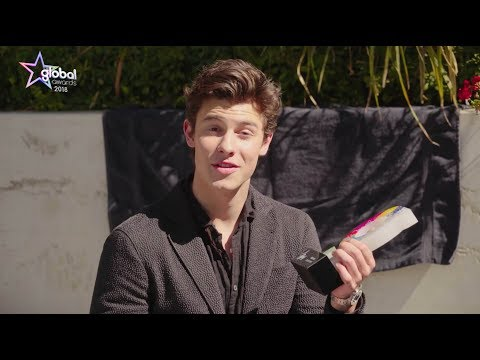 Shawn Mendes wins 'Best Male' at The Global Awards 2018