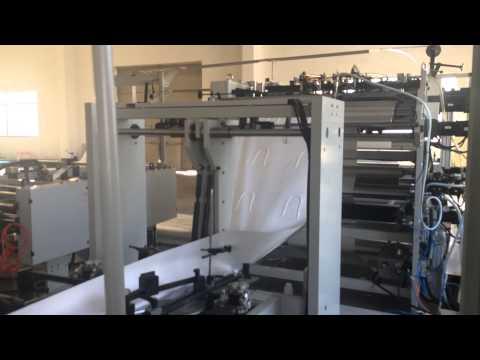 SBH450- HD Roll Fed paper shopping handle bag machine