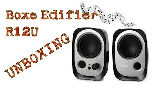 Edifier R12U Unboxing  [RO]