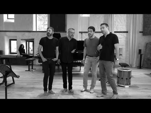 Amoria rehearsals LFO - Katia Marielle Labeque, Carlos Mena, Hegiak