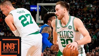 Boston Celtics vs Dallas Mavericks Full Game Highlights | 01/04/2019 NBA Season