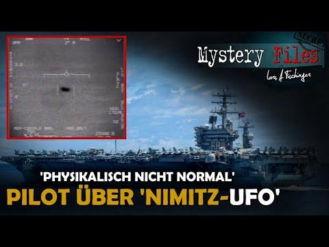 """""""Physikalisch nicht möglich"""": Navy Pilot spricht erstmals über das Nimitz UFO (Tic Tac UFO)"""