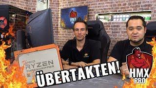 OVERCLOCKING: So krass übertaktet der8auer den THREADRIPPER der Höllenmaschine X Pro #Workstation