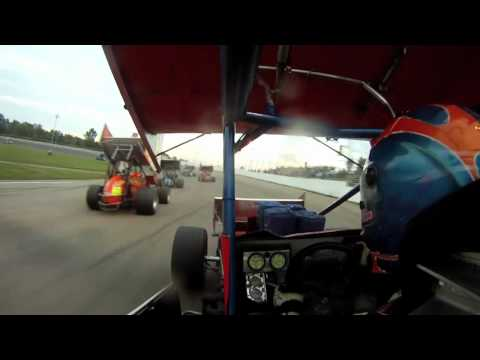 ★ Derek Snyder GoPro HD on board @ Owosso Speedway 410 Sprint Car 9-25-11 ★