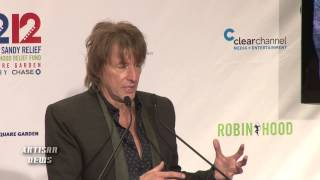 RICHIE SAMBORA LAST PRESS CONFERENCE IN BON JOVI? - 12 12 12 (COMPLETE)