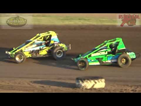 81 Speedway 8-18-17 Sands Chevrolet Southwest Wingless Sprint Cars Heat Races
