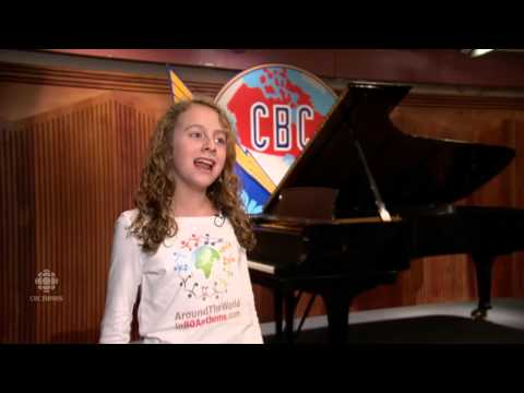 11-year-old Vancouver girl can sing 80 national anthems
