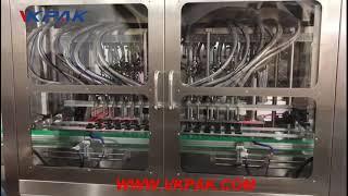 VKPAK 고속 16 헤드 알코올 방폭 충전 기계