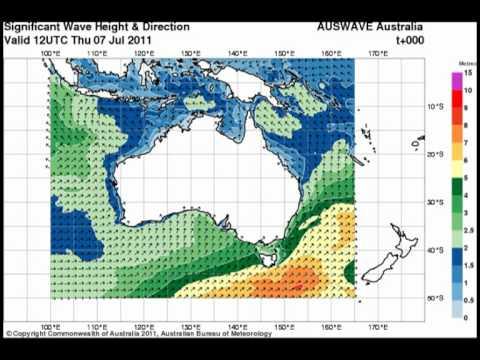 Large Swells Impact Southeastern Australia
