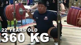 Eishiro Murakami - Olympic Weightlifting Training