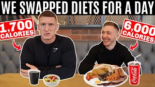 I swapped diets with an OLYMPIC GYMNAST ft. Nile Wilson