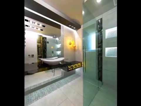 Projekt łazienki w stylu nowoczesnym - PORCELANOSA - YouTube