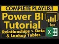 Power BI Tutorial for Beginners: Relationships. Data and Lookup Tables (1.2.1)