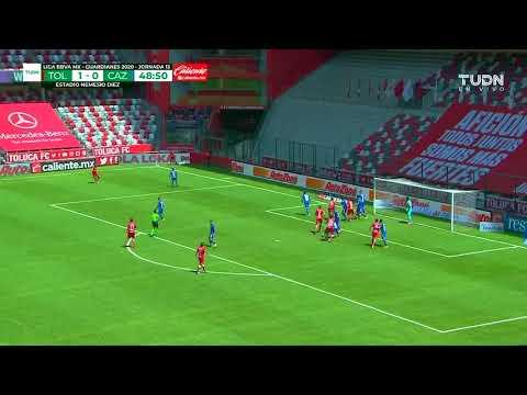Toluca [2] - 0 Cruz Azul - Gaston Sauro 49'