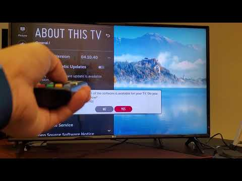 LG Smart TV: How to Update System/Firmware Software Version