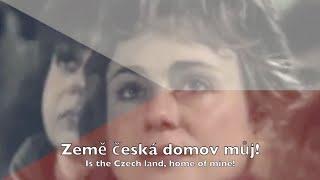 national anthem czech republic kde domov můj