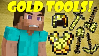 Why Gold Tools Break Quickly - Minecraft thumbnail