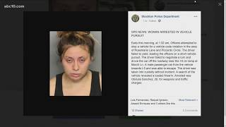 Obdulia Sanchez, woman who live-streamed the fatal crash that killed her sister, arrested again