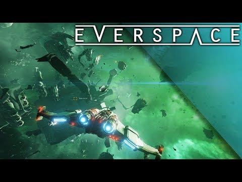 Everspace игра просто космос|Начинаем с нуля|Апгрейд корабля|Улетная стрелялка|