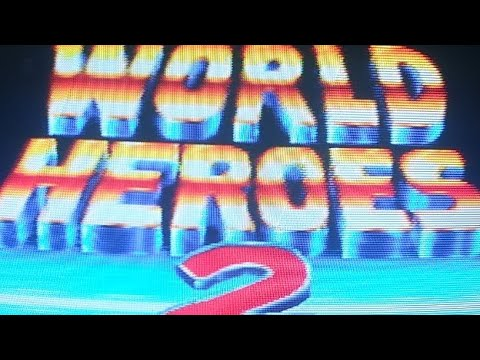 World Heroes 2 Gameplay