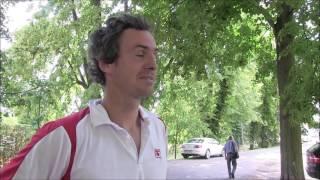Jan Hernych po výhře v prvním kole turnaje Futures v Pardubicích