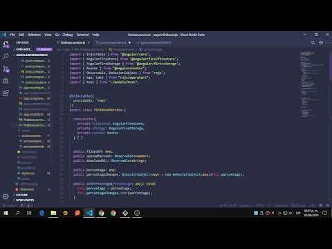 Angular 8 / Firebase / RxJs #7 ( Building the Post Component / Tags Status ) thumbnail