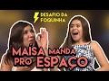 LARISSA MANOELA OU SILVIO SANTOS? ft. MAÍSA SILVA | Desafio da Foquinha