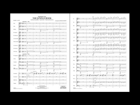 Highlights from The Jungle Book arr. Michael Brown