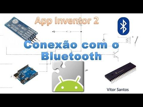 Conexão com o módulo Bluetooth - App Inventor 2 - Android #02