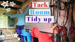 Tack Room Spring Clean and DIY Transformation Tour | This Esme