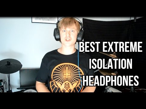 Best Extreme Isolation Electronic Drum Headphones Review